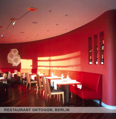 Margit Flaitz Innenarchitektin – Restaurant Oktogon, Berlin